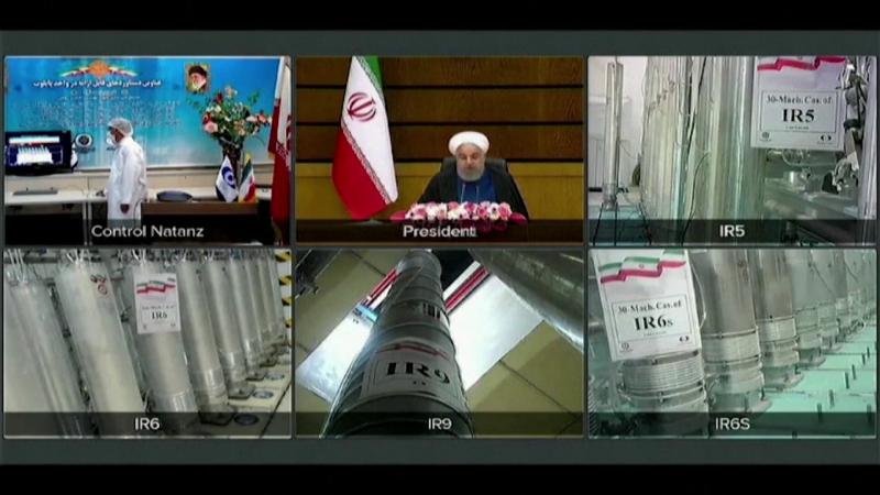 """伊朗原子能组织主席:纳坦兹核设施故障为""""核恐怖主义行为"""""""