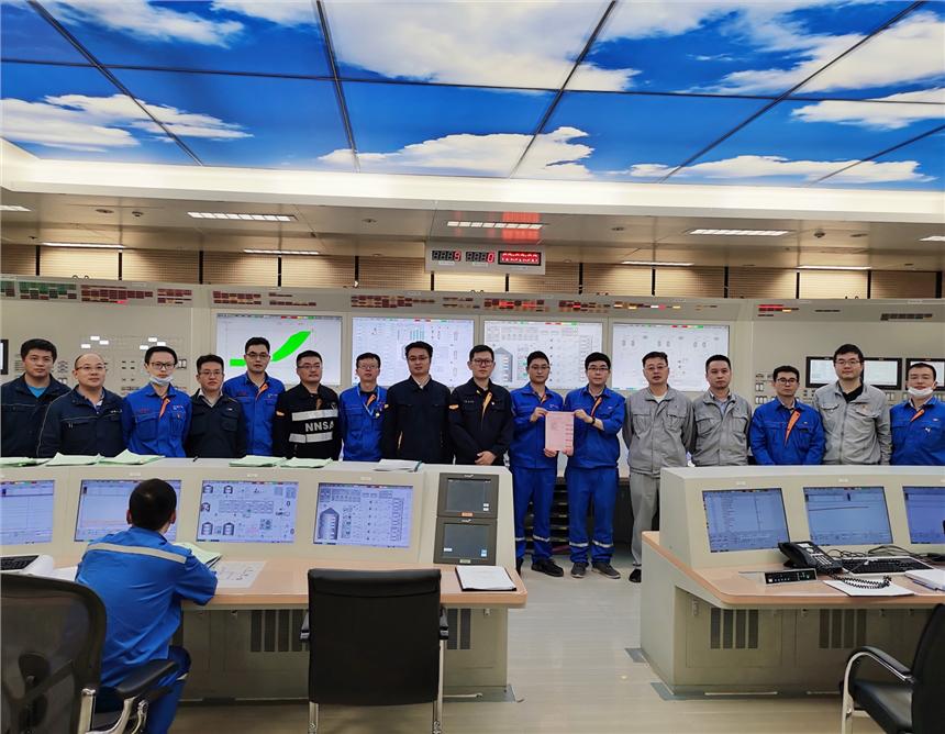 红沿河核电站5号机组首次达临界