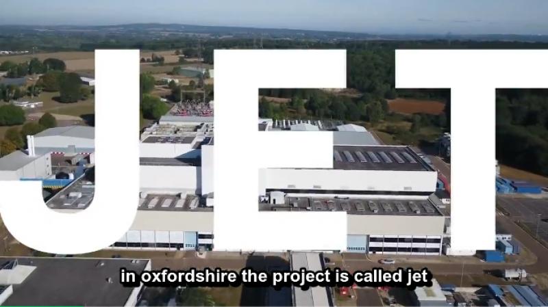 世界最大核聚变实验堆JET