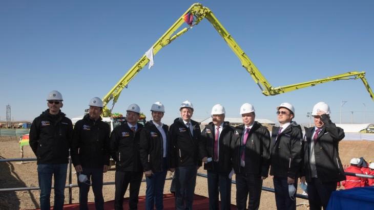 玻利维亚研究堆综合体开工建设