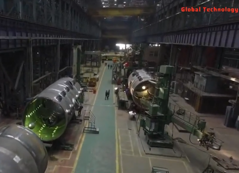 【视频】不可思议的反应堆容器