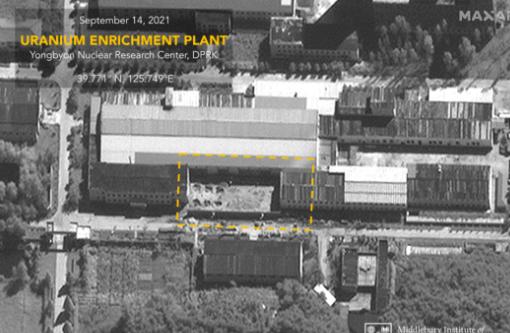 卫星图像显示朝鲜正扩建武器级铀生产设施